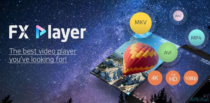 FX Player 1 6 3 APK File - APK4Fun | Places in 2019 | Player