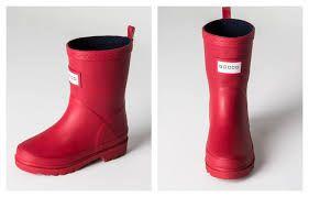 botas de lluvia rojas - Buscar con Google