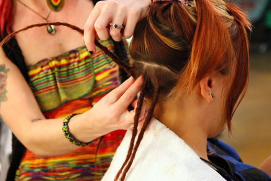 ever wanted dreadlocks? here's how they're made | #diy #hair
