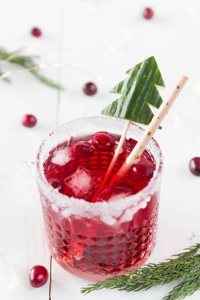Cranberry Gin Tonic - ein toller Drink zu Weihnachten, der sich wunderbar als Aperitif zum Festmahl macht   ars textura - Food Blog