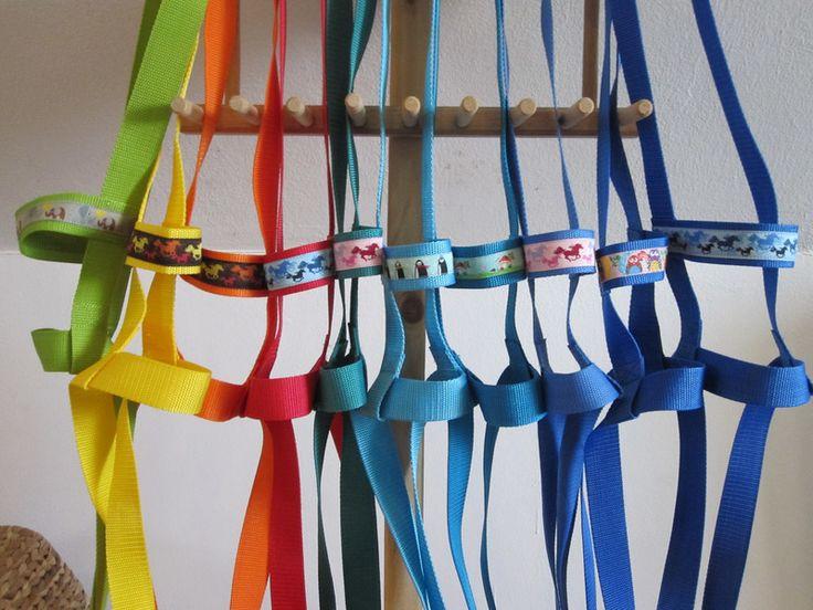 Pferdchengeschirre & - Bänder - unverwüstliche Pferdeleine, Pferdegeschirr, Pferde - ein Designerstück von KikisFeenzauber bei DaWanda