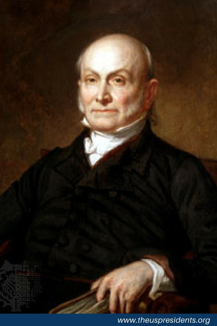 John Quincy Adams July 11, 1767 – February 23, 1848) was an American statesman who served as a diplomat, United States Senator, member of the House of Representatives, and was the sixth President of the United States from 1825 to 1829. He was a member of the Federalist, Democratic-Republican, National Republican, and later the Anti-Masonic and Whig parties.