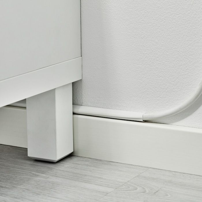 Montera Cable Management White 43 6 Pack Ikea In 2020 Cable Management Ikea Small Storage