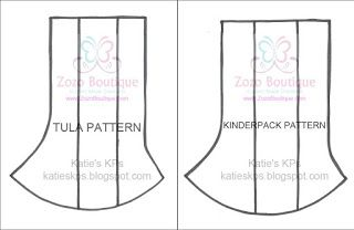 Katie's KPs: New Corner Drool Pads Patterns! Tula & Kinderpack Versions
