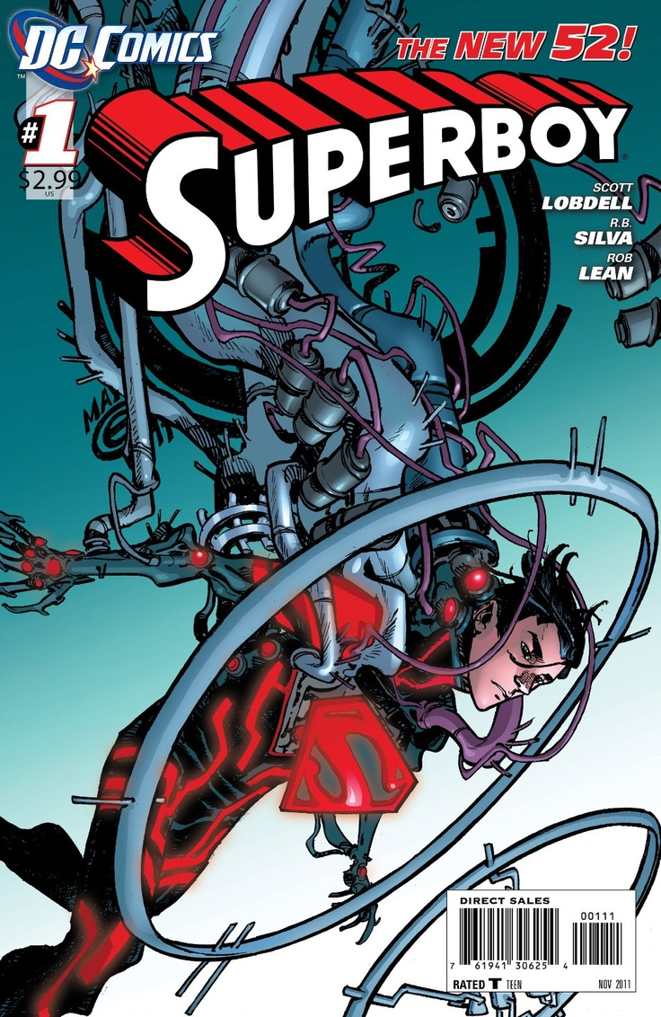 Superboy # 1  This Book Really Surprised Me I Was Like