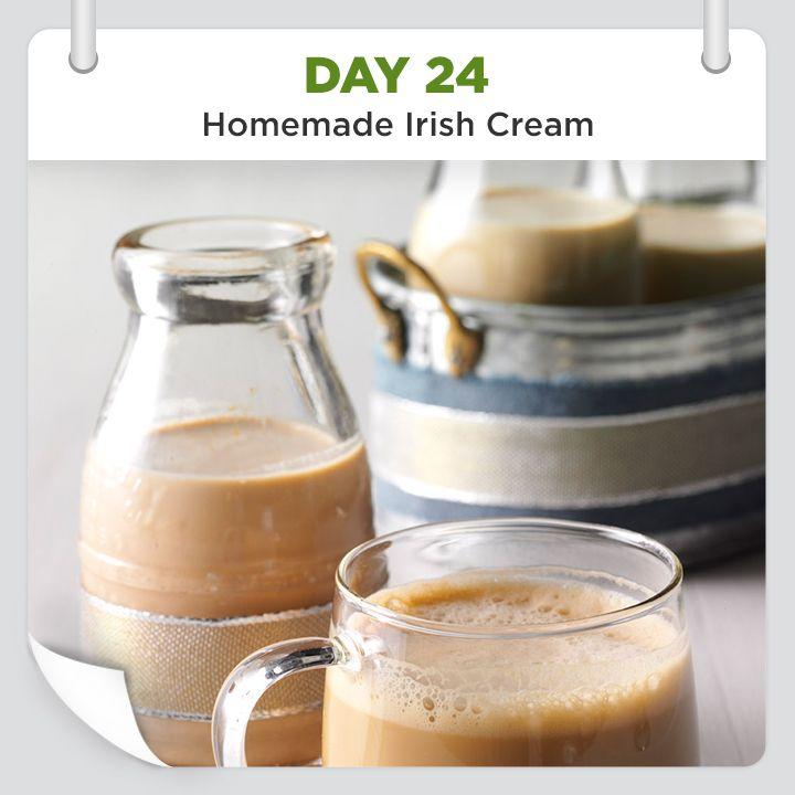 25 Days of Christmas Cheer :: Day 24 :: Homemade Irish Cream Recipe from Taste of Home -- shared by Marcia Severson, Hallock, Minnesota