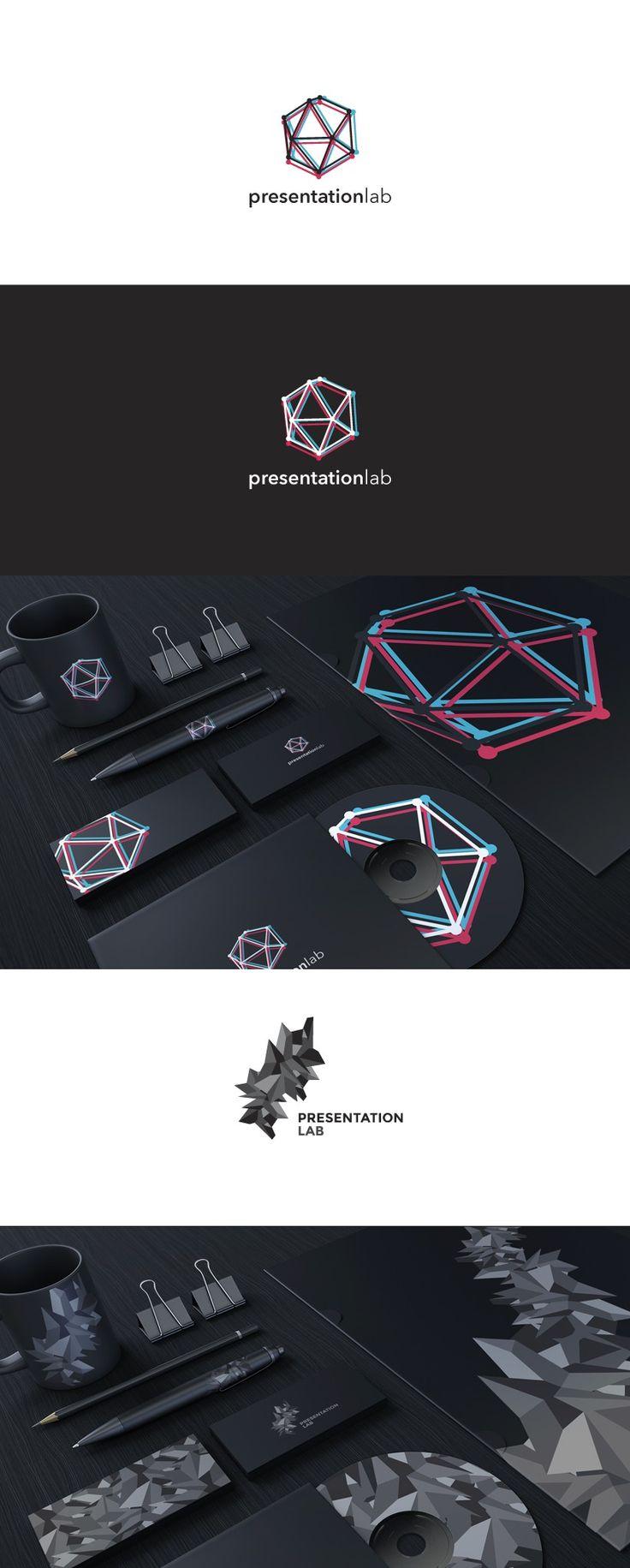 Presentation Lab identity by Merixstudio