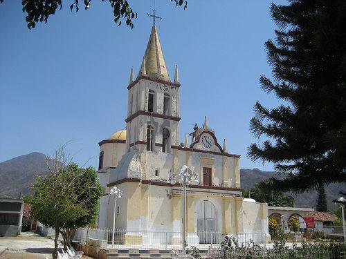 Iglesia del Rosario Mpio. de Amatlán de Cañas, Nayarit - México