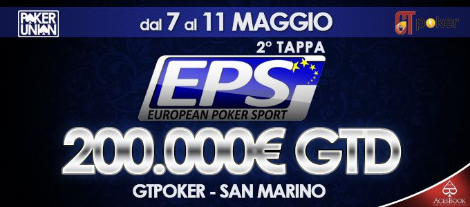 Gt Poker: a maggio la seconda tappa dell'European Poker Sport