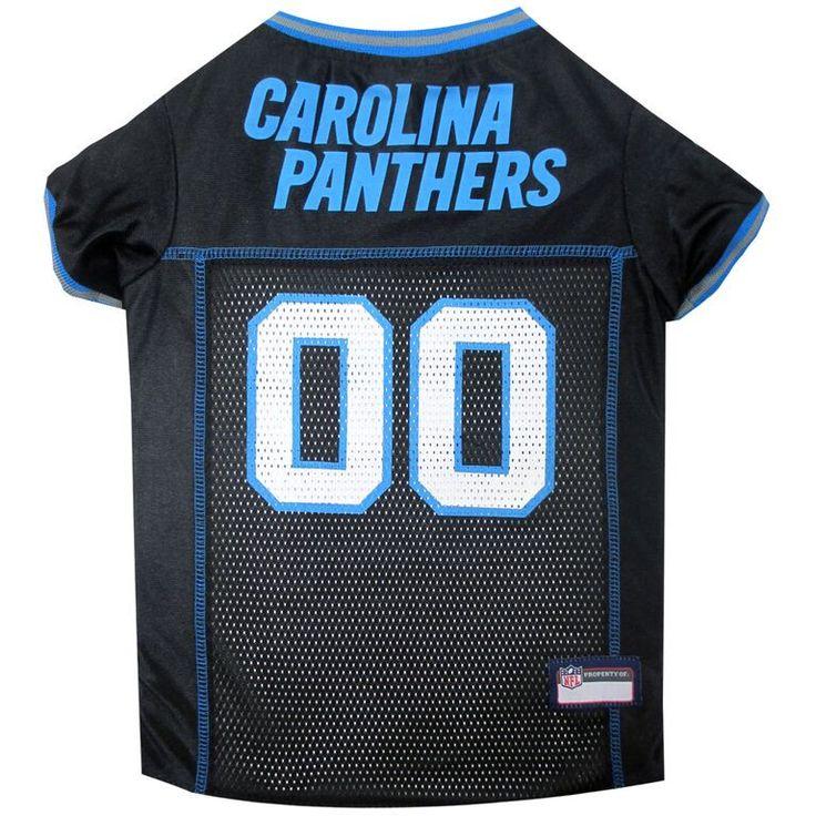 Carolina Panthers Dog Jersey – MESH Blue Trim