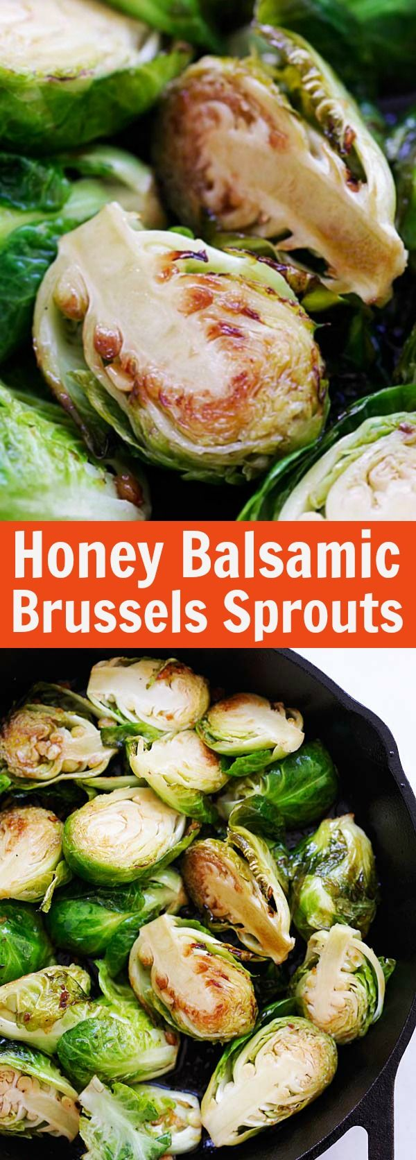 Honey Balsamic Brussels Sprouts – quick and healthy sauteed Brussels Sprouts with honey and Balsamic vinegar. A perfect side dish for dinner | rasamalaysia.com