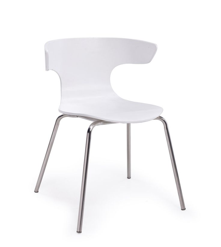 Breakout office chair in white with various combinations for workspace design. Replica designer furniture. Wholesale inquires @howimports #seating