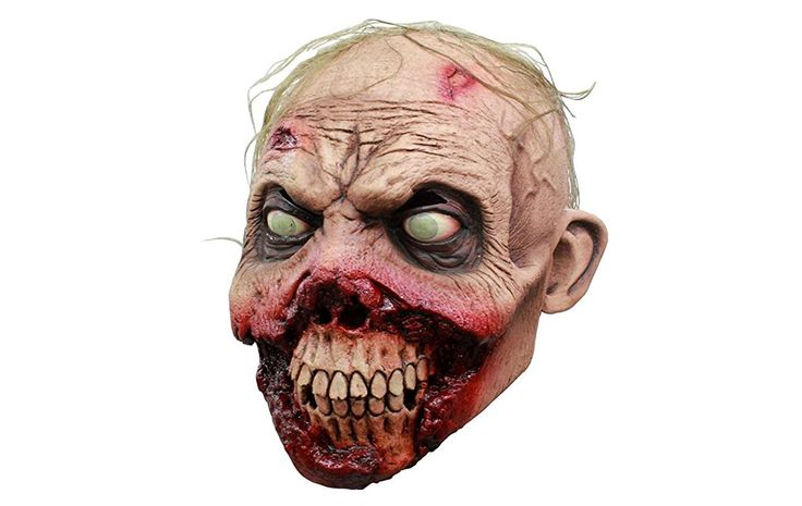 Disgustingly fun! Rotten Gums Zombie Mask is a hand-painted, gruesome delight! This zombie maskhas a light skin tone,comes with hair that looks real, and asurprisingly well made mouth area. (more…)