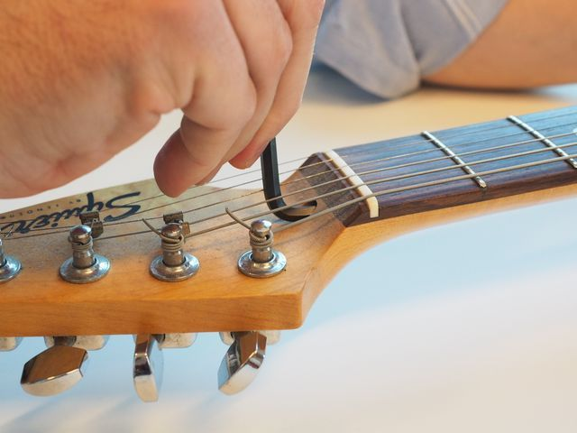How To Set Up A Guitar And Make It Your Own Guitar Diy Musical Instruments Setup