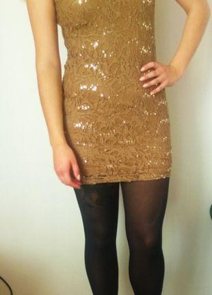 Kup mój przedmiot na #vintedpl http://www.vinted.pl/damska-odziez/krotkie-sukienki/11073228-sukienka-z-wycietymi-plecami-stare-zloto