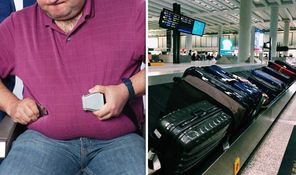REVEALED: 40% believe passengers weight should be included in airline luggage allowance