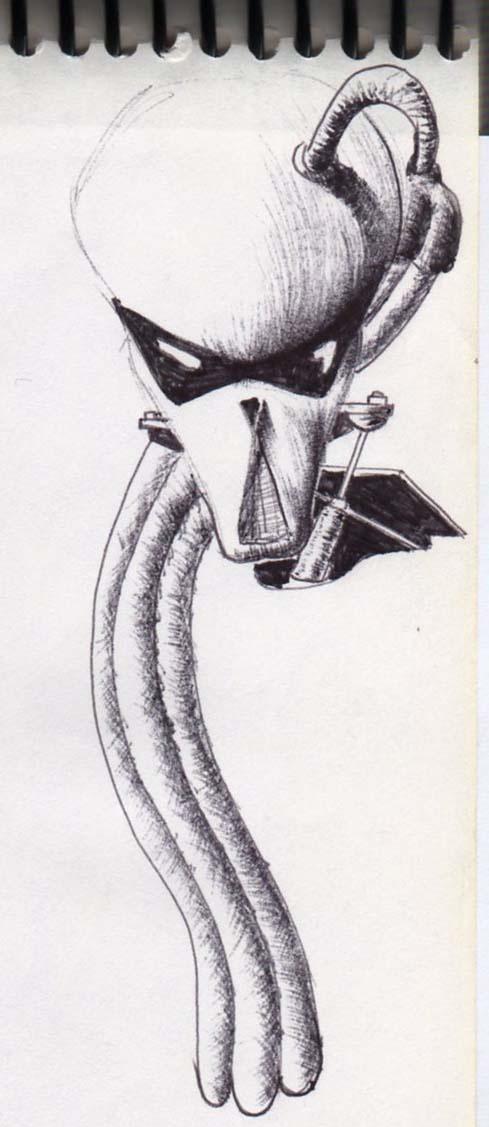 cabeza de alien