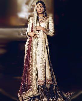 Off White Bridal Wedding Lehnga Lengha, Pakistani Lehnga Choli, Embroidered Lehnga Choli Pakistan