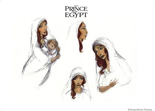 bronze-wool:  The Prince of Egypt concept art by Carlos Grangel.