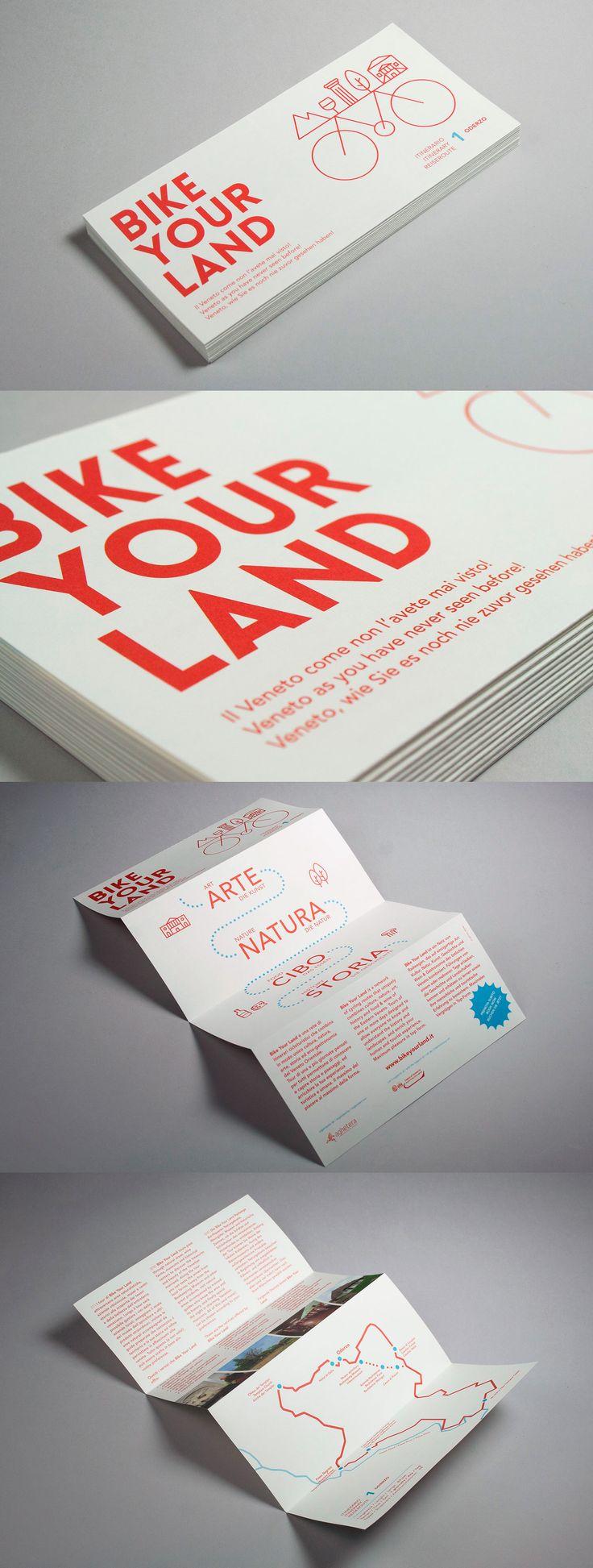 Bike Your Land, leaflet — hstudio