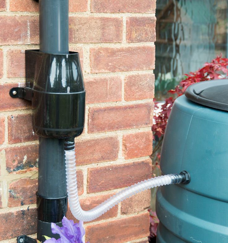 Collect rainwater from your roof to your water butt or tank. The award winning Gutter Mate Diverter & Filter. The only rainwater diverter which filters rainwater before it enters your rainwater storage.