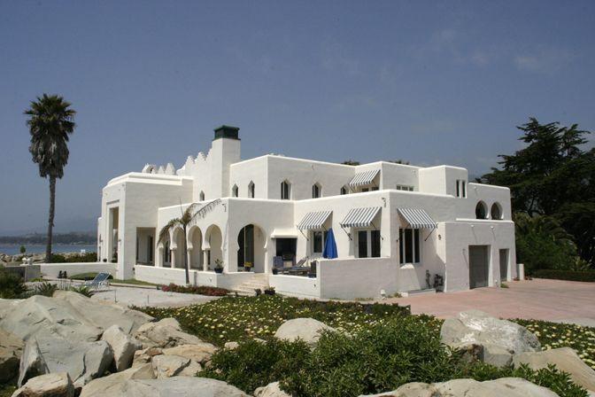 Beach house dream home pinterest for Santa barbara beach house