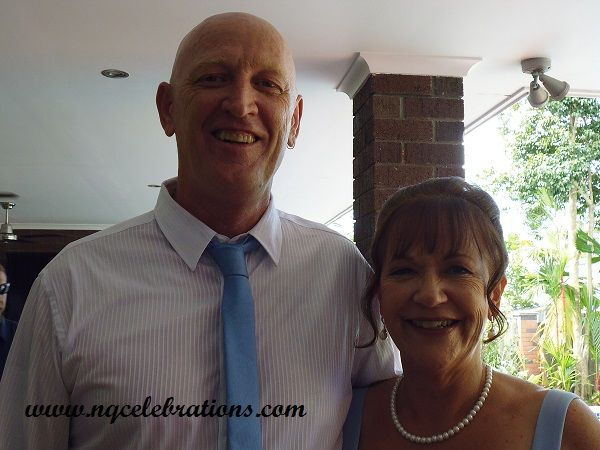 Kathy and Warren, married on 25th February 2016 by Cairns Wedding Celebrant Janine Meakin