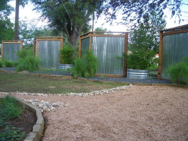Privacy Fences for front yard - actually I could see something like this around 2 sides of a SHADED deck