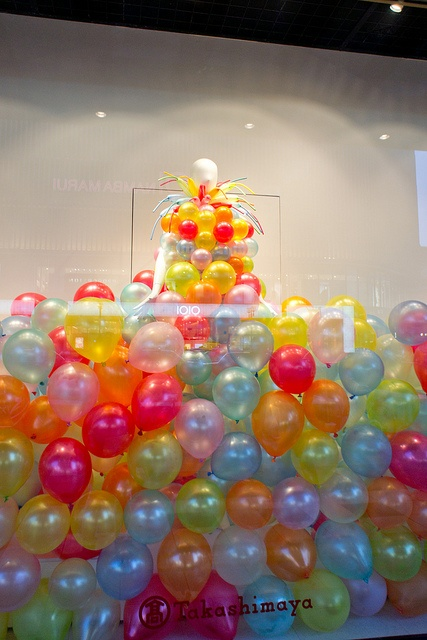 Shop window at Takashimaya department store by Otomodachi, via Flickr