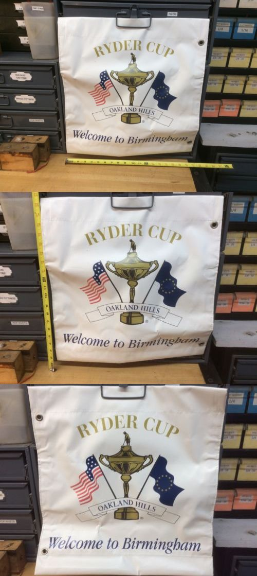 Golf 428: 2004 Ryder Cup Banner Oakland Hills -> BUY IT NOW ONLY: $70 on eBay!