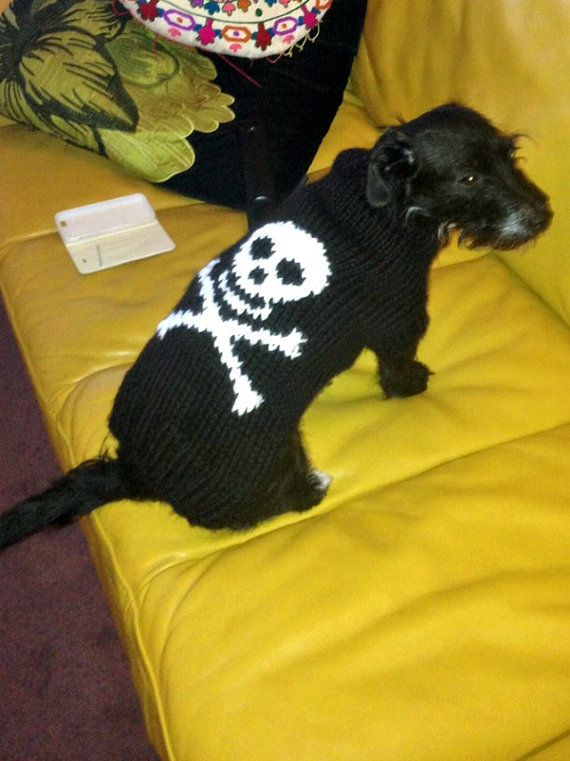 Dog costume dog sweater  French bulldog size clothes by CUTIEDOG
