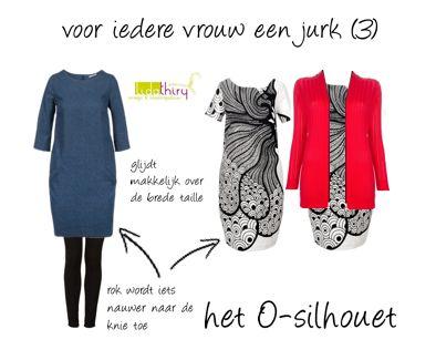 Een-jurk-voor-het-O-silhouet. Klik op de foto voor meer details.