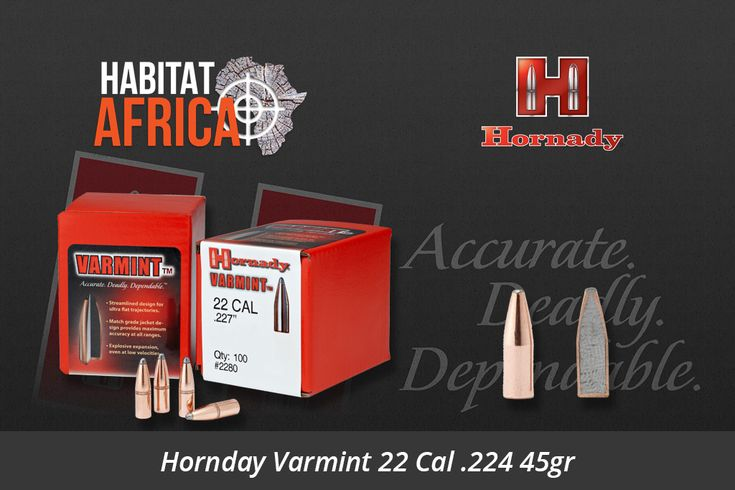 The Hornady Varmint line of bullets features a streamlined design for flat trajectory. Crafted of pure lead with a match-grade copper jacket these bullets represent the original standard created by Joyce Hornady for classic varmint hunting. Primarily comprised of spire point profiles and flat base designs, the bullets perform extremely [...]