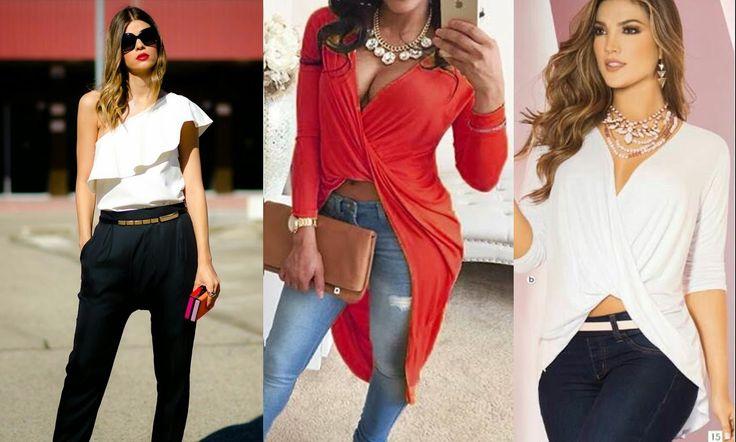 Blusas de moda 2016-2017