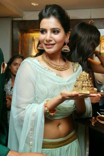 Samantha at jewellary show room opening........