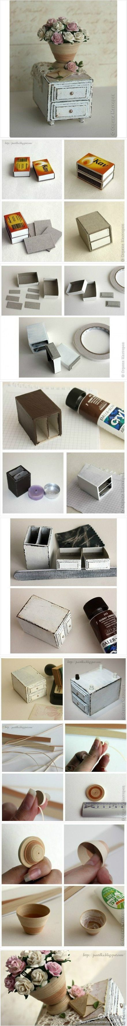 Dollhouse furnitures #match #box