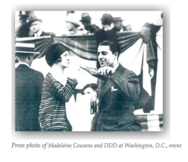 Dimitrie Dimăncescu cu Marguerite Couzens