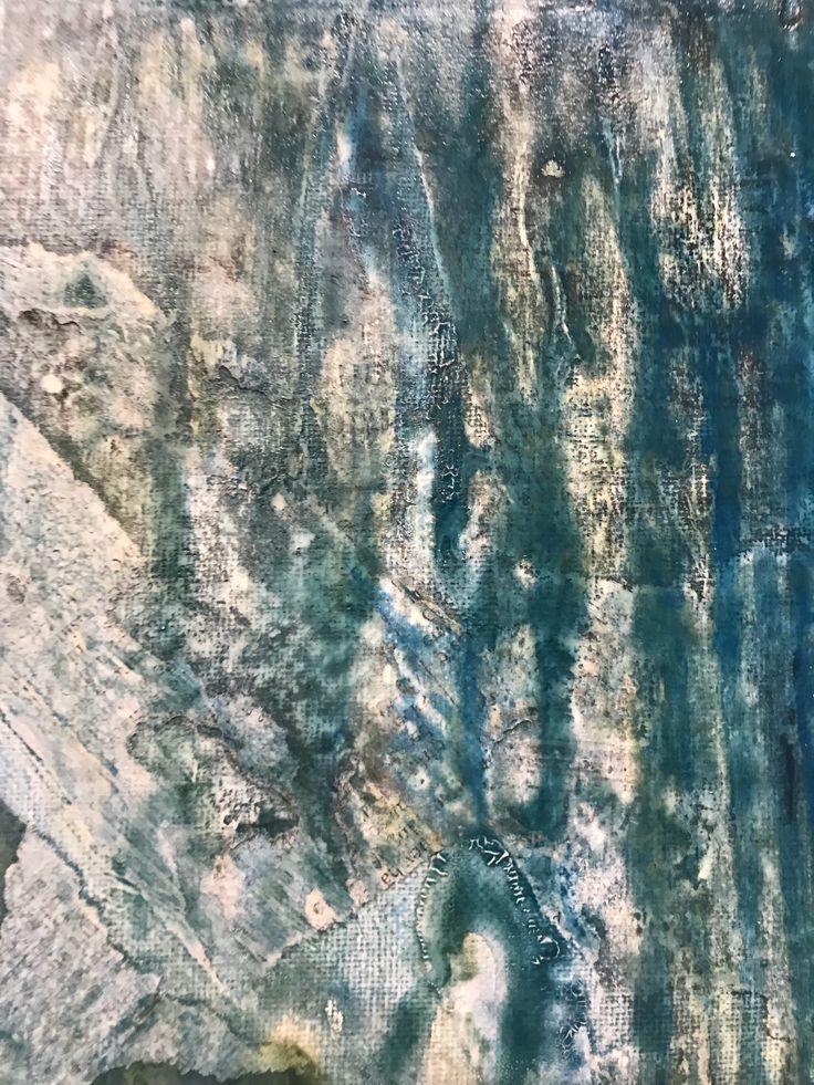Newspaper background/ Blue & Green High Gloss #art #texture #newspaper #blue #green #gloss