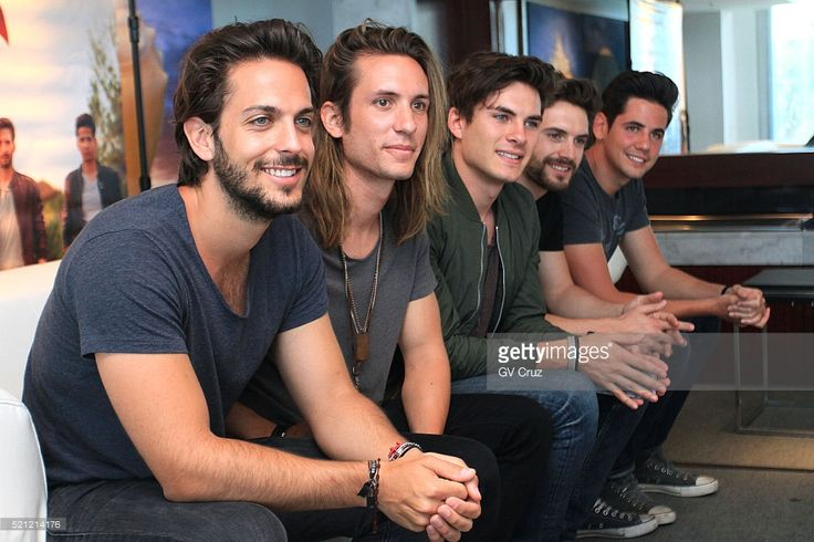 Nacho Gotor, Martin Ceballos, Andres Ceballos, Luis Gonzalvo and Alberto Gonzalez of DVICIO talks to media as part of press conference on April 13, 2016 in San Juan, Puerto Rico.