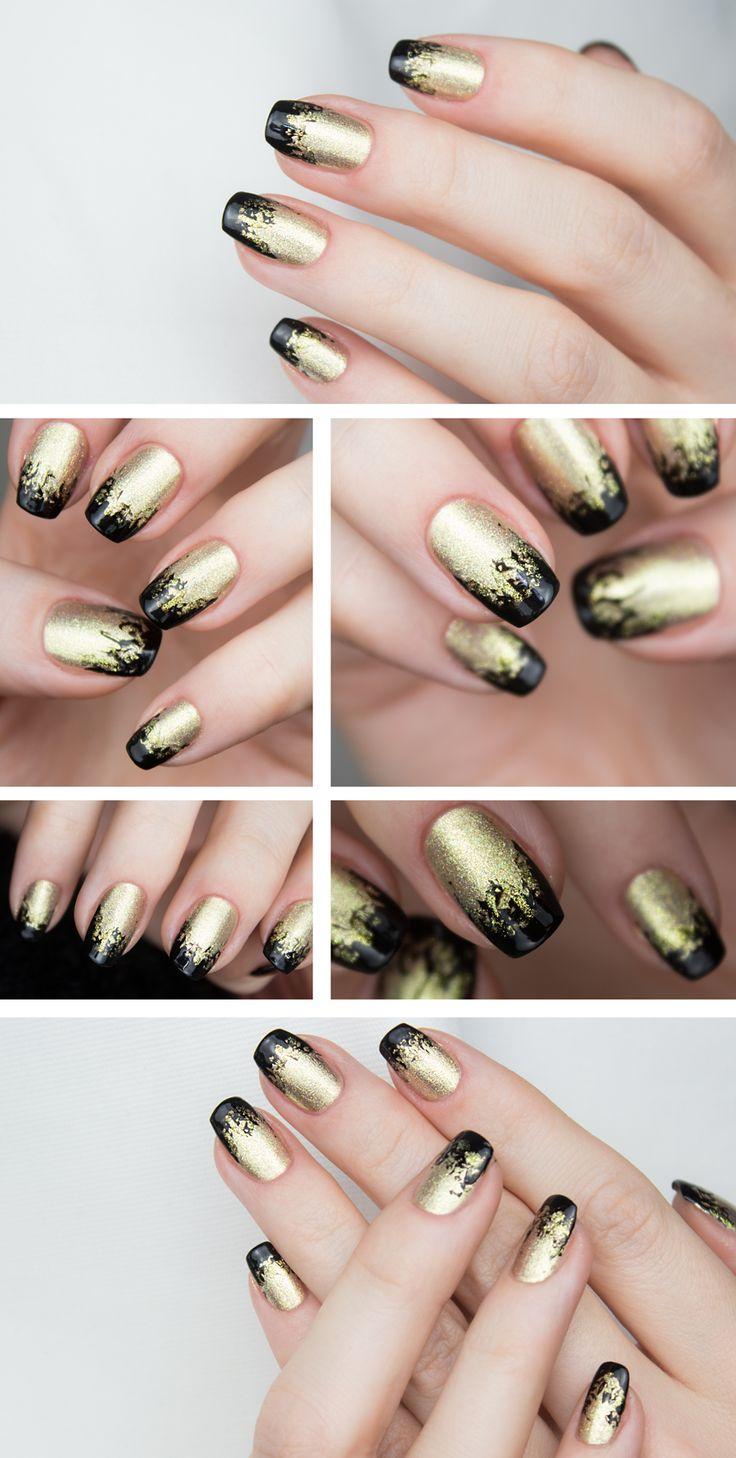 Lite nagel inspo till nyår:) Effekten har jag f . . .