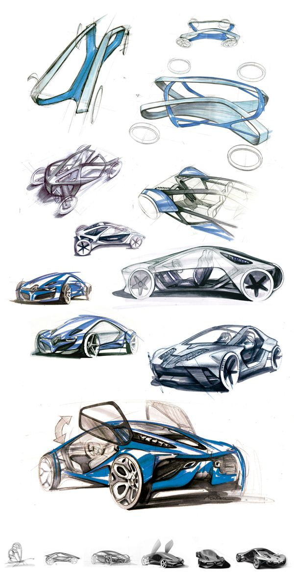 Renault Fly Concept by Konrad Cholewka, via Behance join us http://pinterest.com/koztar/