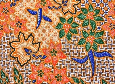Traditional Malaysian batik
