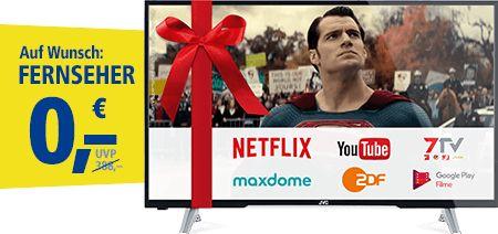 1&1 Weihnachtsbonus: DSL/VDSL-Tarife mit gratis Full-HD LED-Fernseher und Google Chromecast   Der DSL Anbieter 1&1 startet ab sofort eine neue Tarifaktion mit einem gratis Full-HD LED-Fernseher und gratis Google Chromecast. Dabei bietet 1&1 seine schnellen 1&1 VDSL Tarife auch weiterhin verbilligt an. Alternativ kann man auf die Hardware verzichten und bekommt die 1&1 DSL/VDSL Tarife in den ersten 12 Monaten verbilligt. Weiterhin gibt es keine Anschlussgebühr im Monat Dezember bei den DSL…