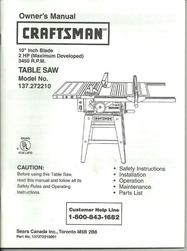 25  best ideas about craftsman 10 table saw on pinterest