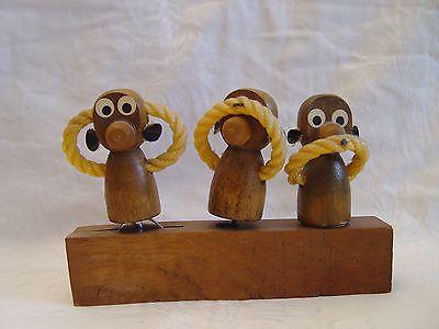 3 Affen Küchenhelfer 60er