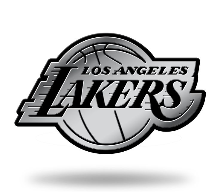 Los Angeles Lakers Logo 3D Chrome Auto Emblem NEW!! Truck or Car! Rico NBA