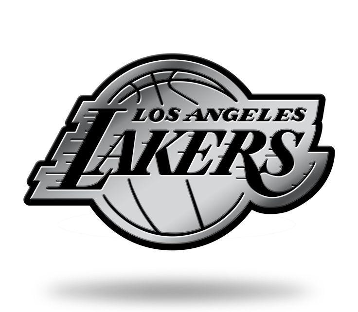 Los Angeles Lakers Logo 3D Chrome Auto Emblem NEW!! Truck or Car! Rico NBA