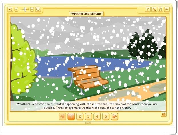 """""""Weather and climate"""" (Social Science de Primaria)"""