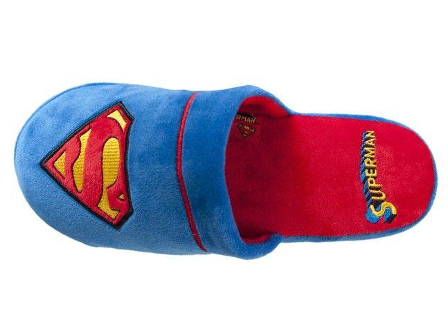 Superman DC Comics Mule Slippers 5 - 7