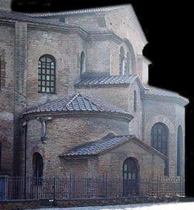 Iglesia San Vital de Rávena - Arquitectura Bizantina